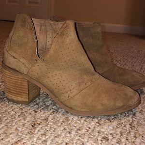 Rebels brown booties size 7.5